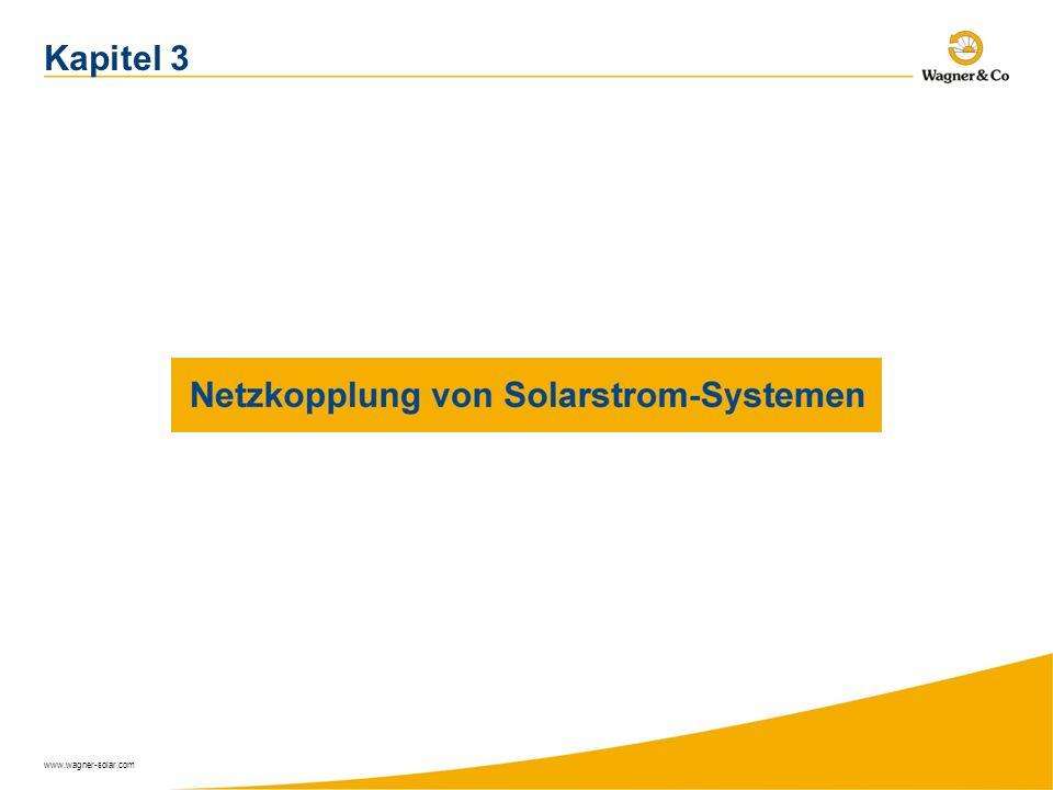 www.wagner-solar.com Kapitel 3