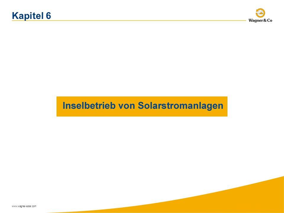 www.wagner-solar.com Kapitel 6