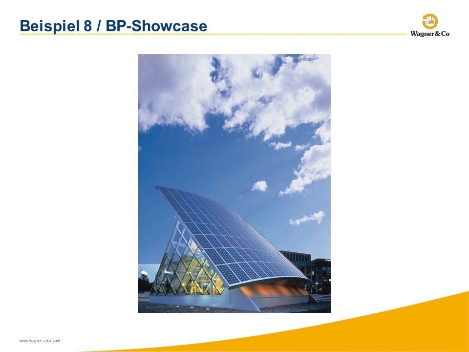 www.wagner-solar.com Beispiel 8 / BP-Showcase