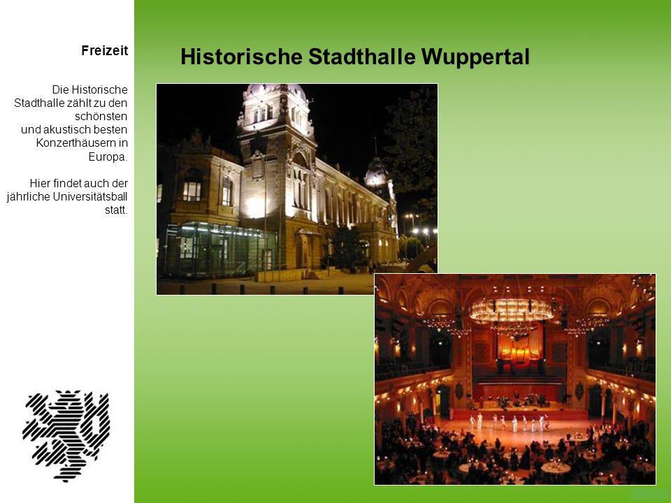 Die Historische Stadthalle zählt zu den schönsten und akustisch besten Konzerthäusern in Europa. Hier findet auch der jährliche Universitätsball statt
