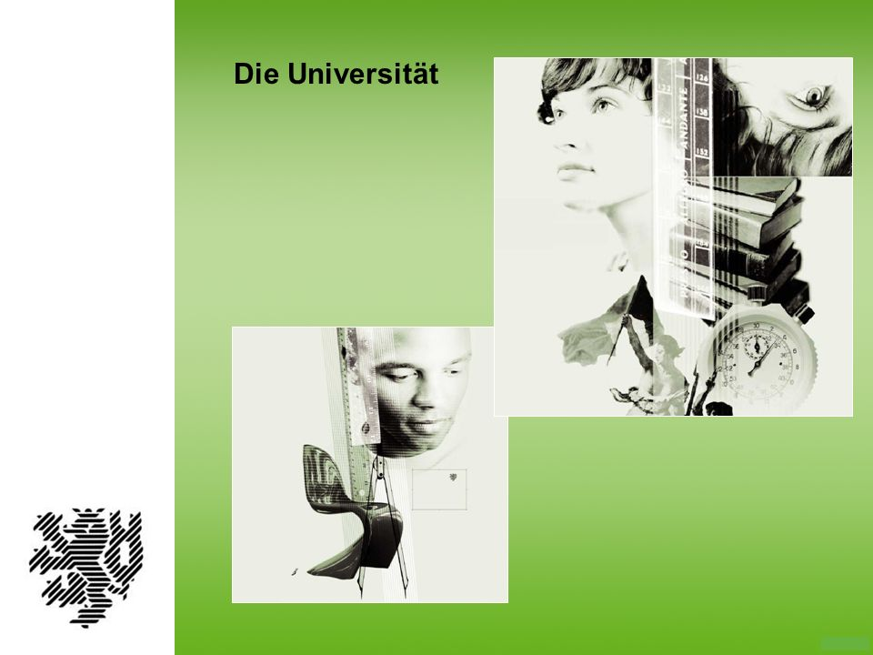 Die Bergische Universität Wuppertal ist eine junge Hoch- schule.