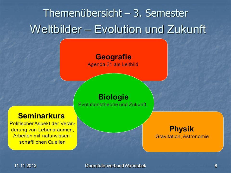 11.11.2013Oberstufenverbund Wandsbek9 Themenübersicht – 4.