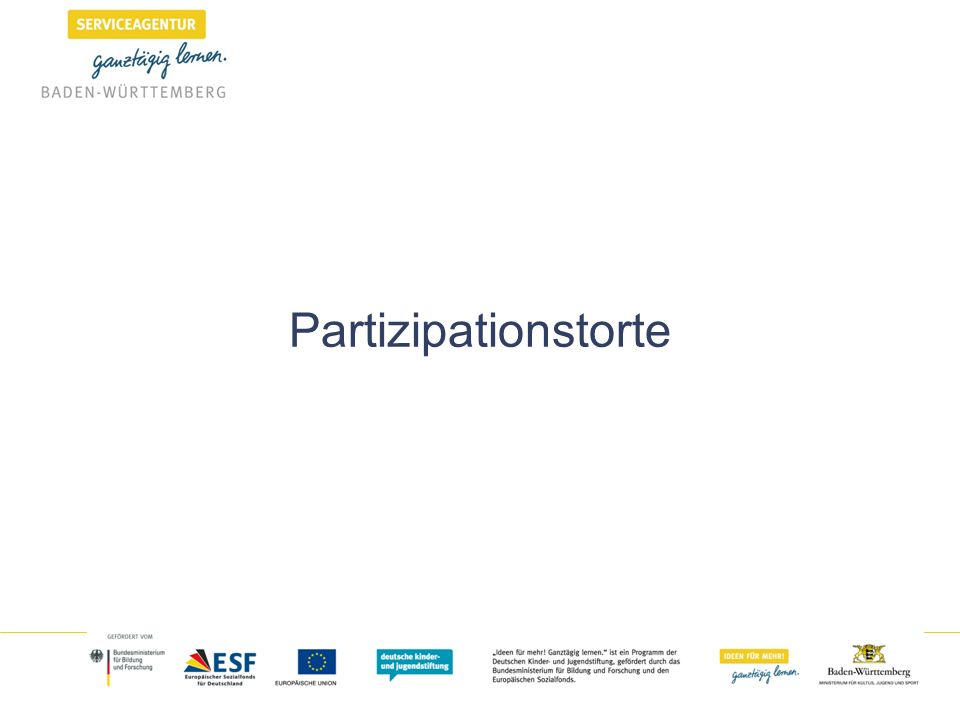 Partizipationstorte