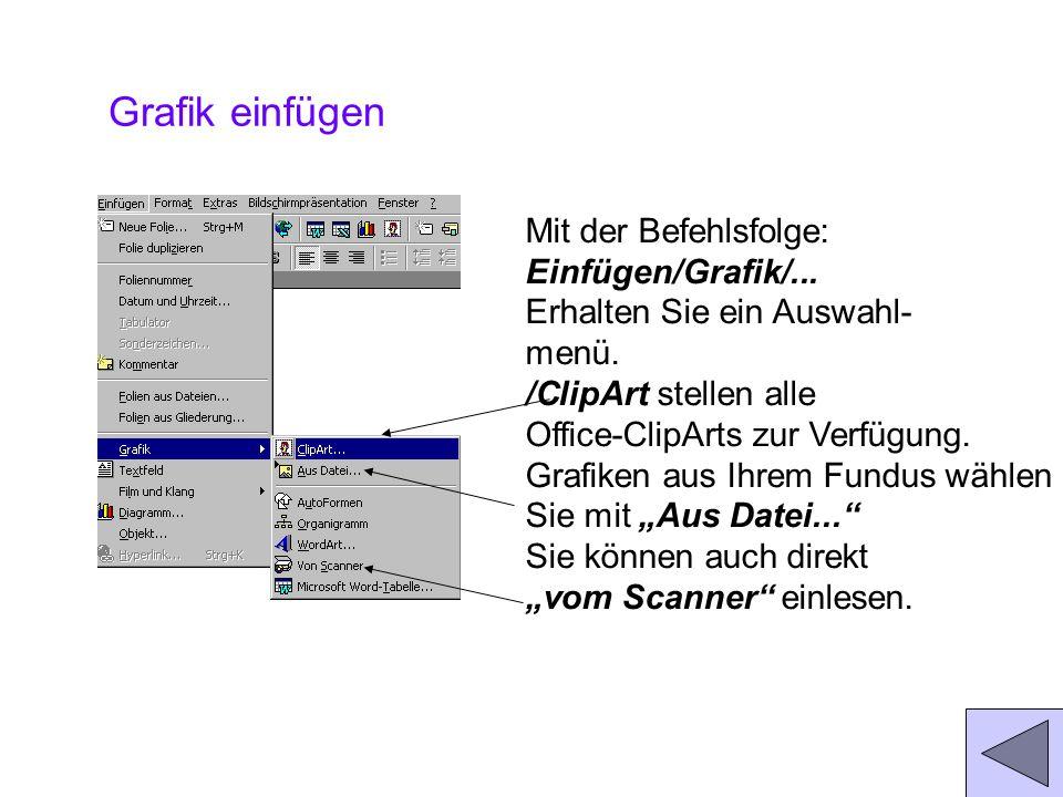 Textfeld einfügen Wenn Sie einsam vor Ihrer leeren Folie sitzen, wählen Sie das Symbol Textfeld aus der Zeichnen-Symbolleiste, klicken Sie es an und k