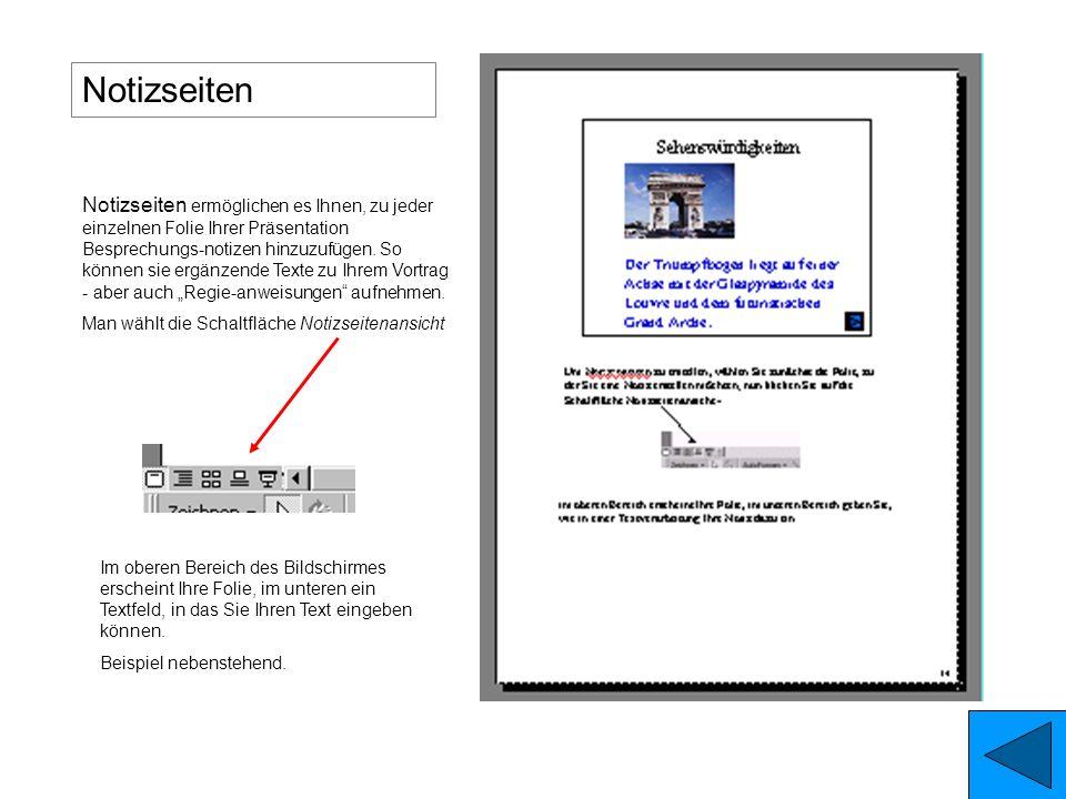Handzettel gibt es mit 2, 3, oder 6 Folien je Seite: Die Abbildungen zeigen in etwa das Druckergebnis. Handzettel