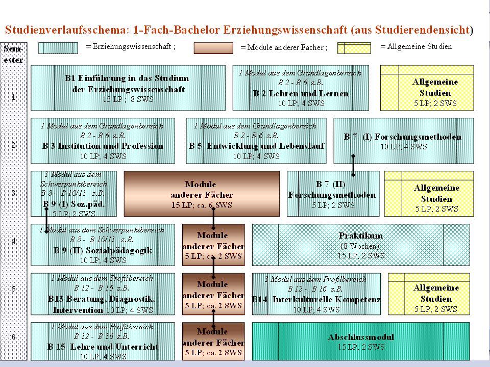 14.07.200910 1-Fach-Bachelor