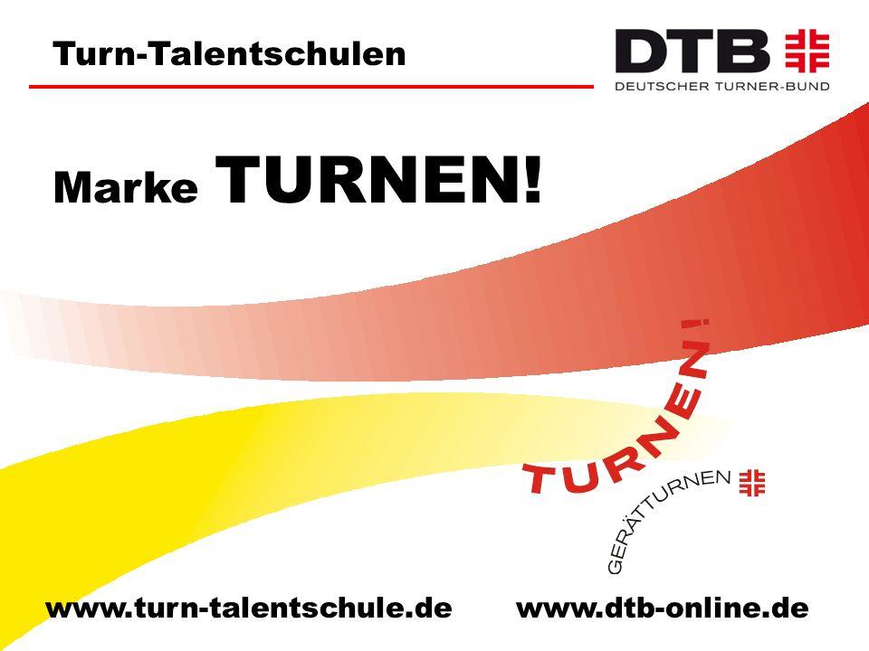Turn-Talentschulen   Turnzentren   Bundesstützpunkte Das Spitzensportkonzept 2012 wurde vom Hauptausschuss des DTB am 19.11.2004 beschlossen.