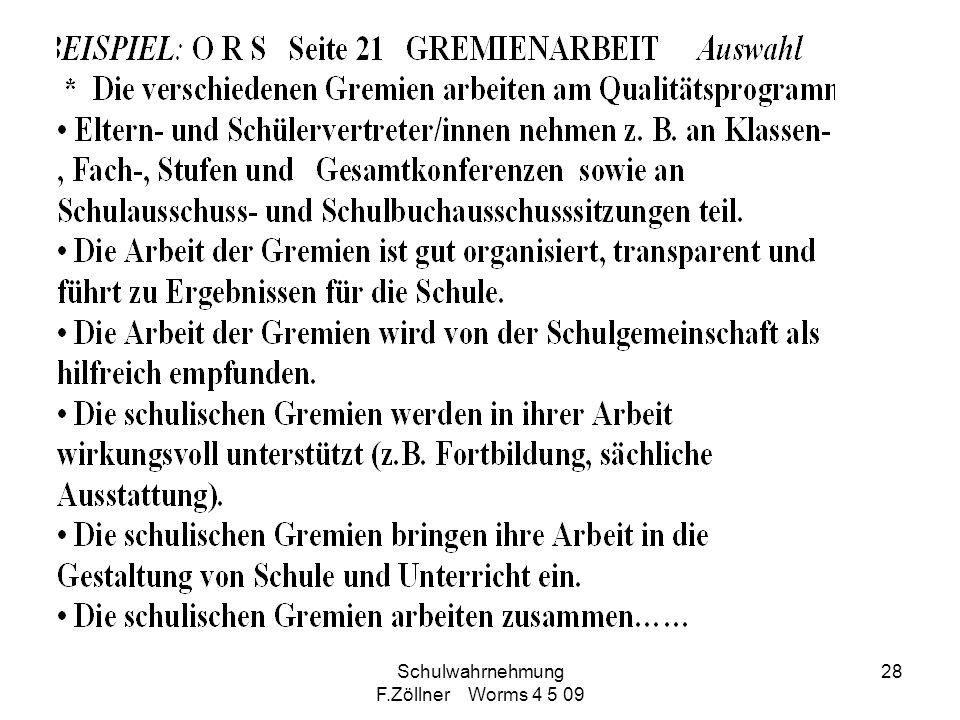 Schulwahrnehmung F.Zöllner Worms 4 5 09 28
