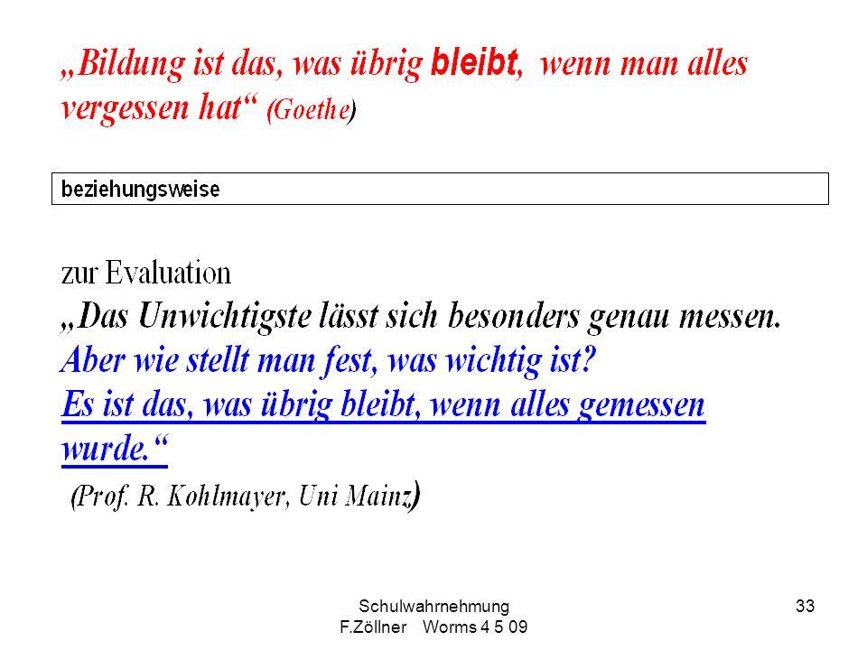 Schulwahrnehmung F.Zöllner Worms 4 5 09 33
