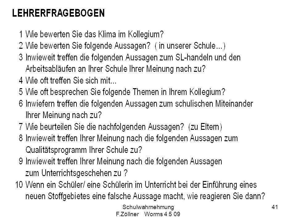 Schulwahrnehmung F.Zöllner Worms 4 5 09 41