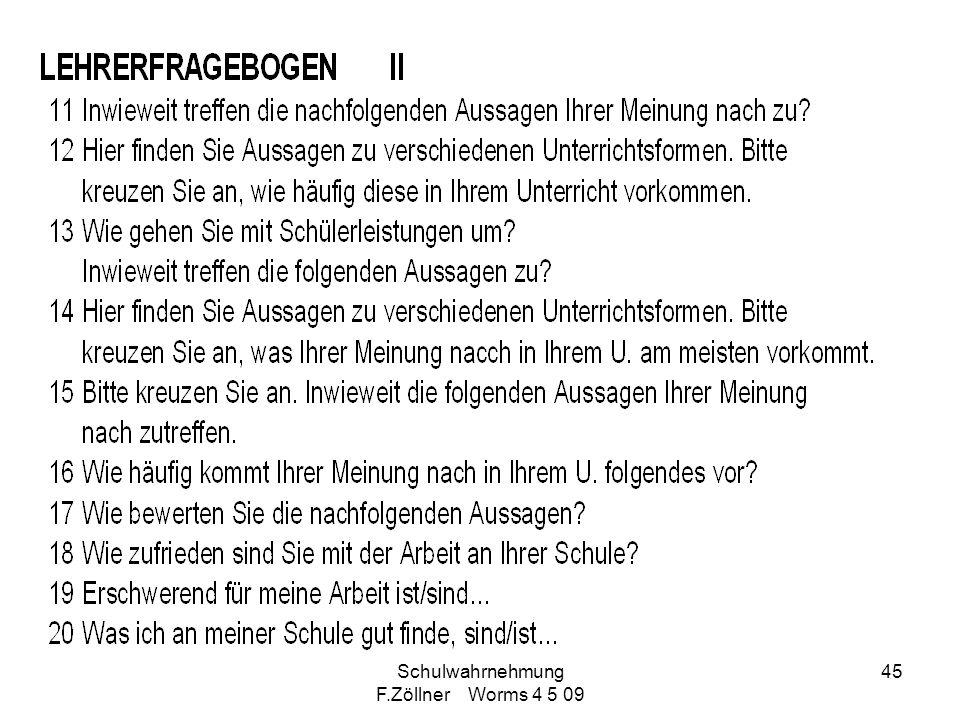 Schulwahrnehmung F.Zöllner Worms 4 5 09 45