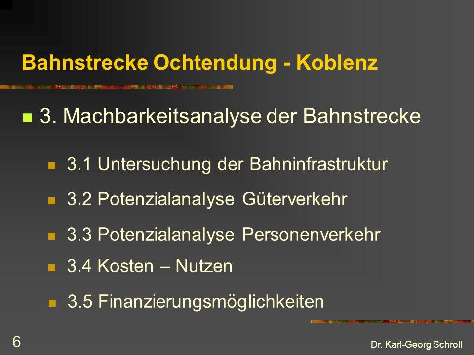Dr.Karl-Georg Schroll 6 Bahnstrecke Ochtendung - Koblenz 3.