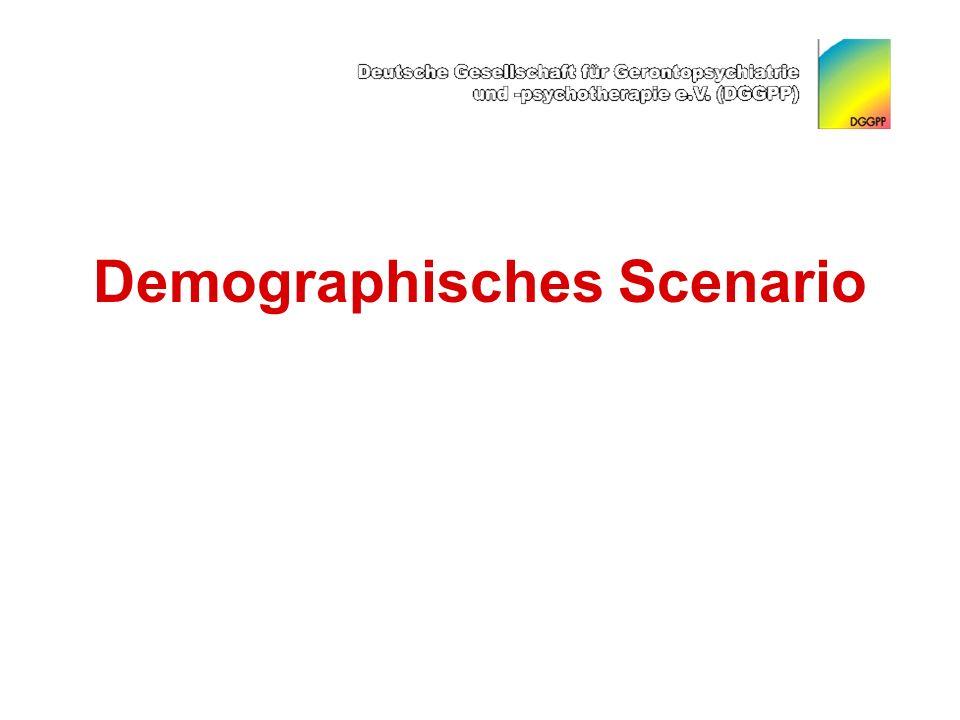 Demographisches Scenario