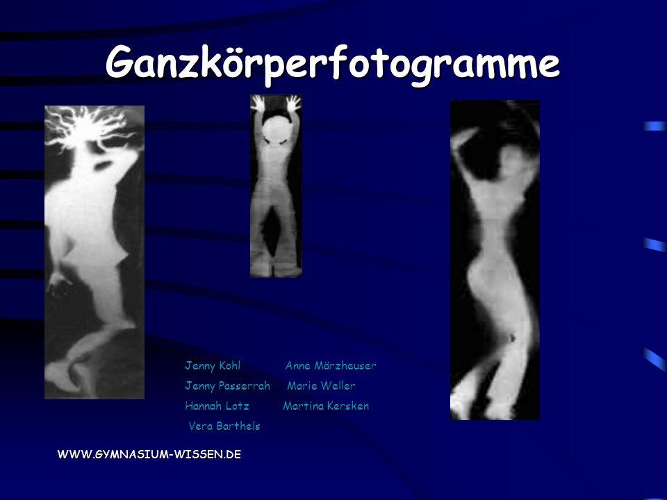 Die Experimentelle Fotografie AG Des Kopernikus-Gymnasiums Wissen präsentiert: WWW.GYMNASIUM-WISSEN.DE