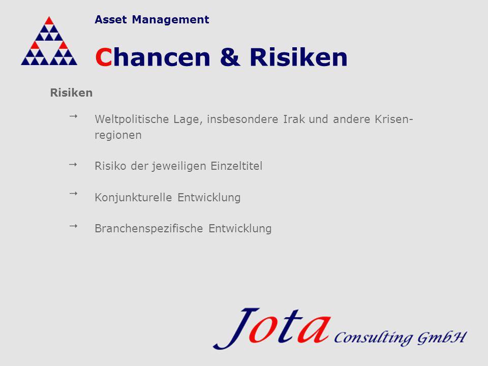Asset Management Jota Consulting GmbH Wir würden uns freuen, wenn Ihnen unser Konzept gefällt und Sie mit uns auf Perlensuche gehen möchten.