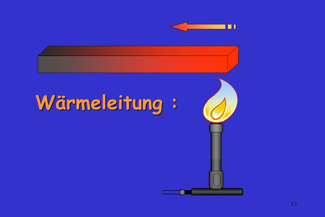 13 Wärmeleitung :