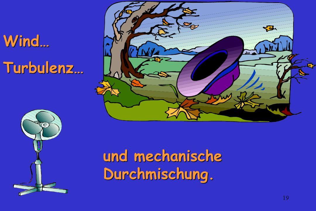 19 Wind…Turbulenz… und mechanische Durchmischung.