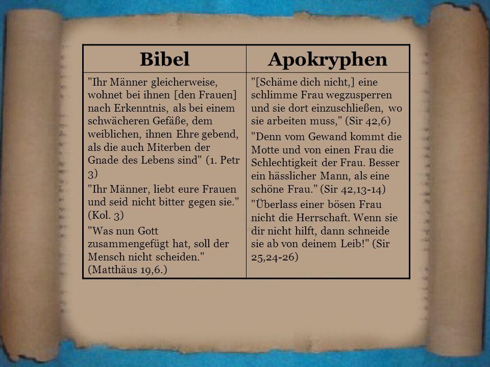 BibelApokryphen