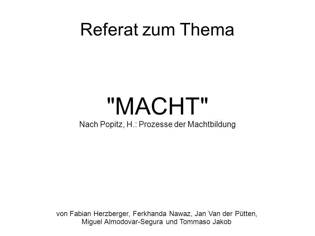 Erziehungsanstalt Die Herrschaft nach Max Weber Herrschaft...