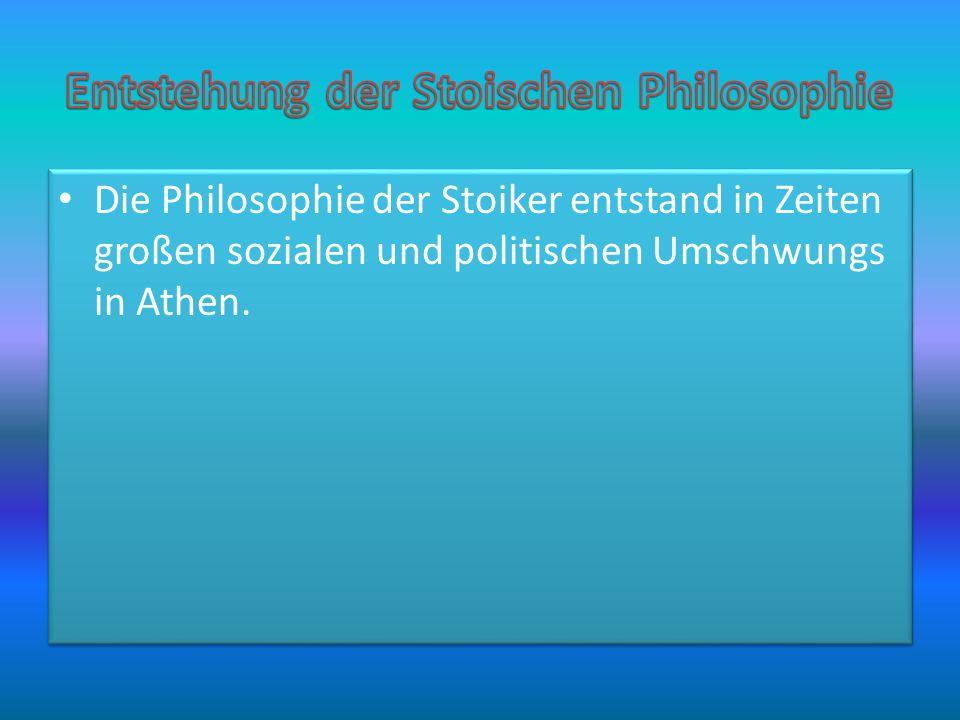 Zenon von Kition Gründer der stoischen Philosophie.