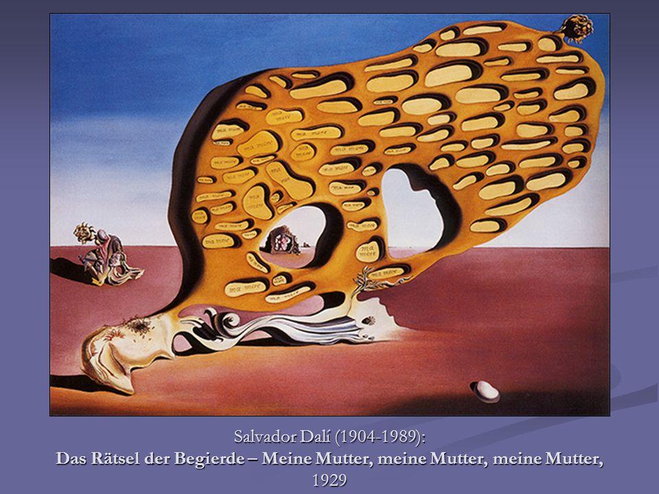 Salvador Dalí (1904-1989): Das Rätsel der Begierde – Meine Mutter, meine Mutter, meine Mutter, 1929