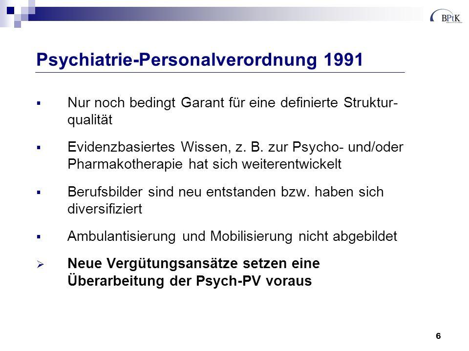 7 Integrierte Versorgung par Exellence 418 Psychiatrische Institutsambulanzen an Krankenhäusern bzw.