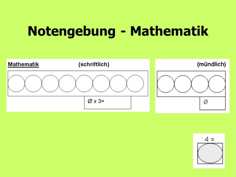 10 Notengebung - Mathematik