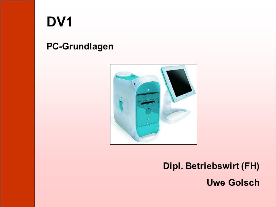1. Der PC und seine Bestandteile Kap. 1