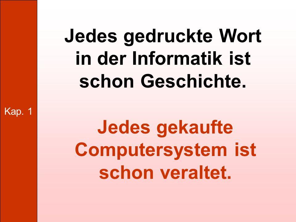 Kap.1 Grundlagen der Hardware 1.6.