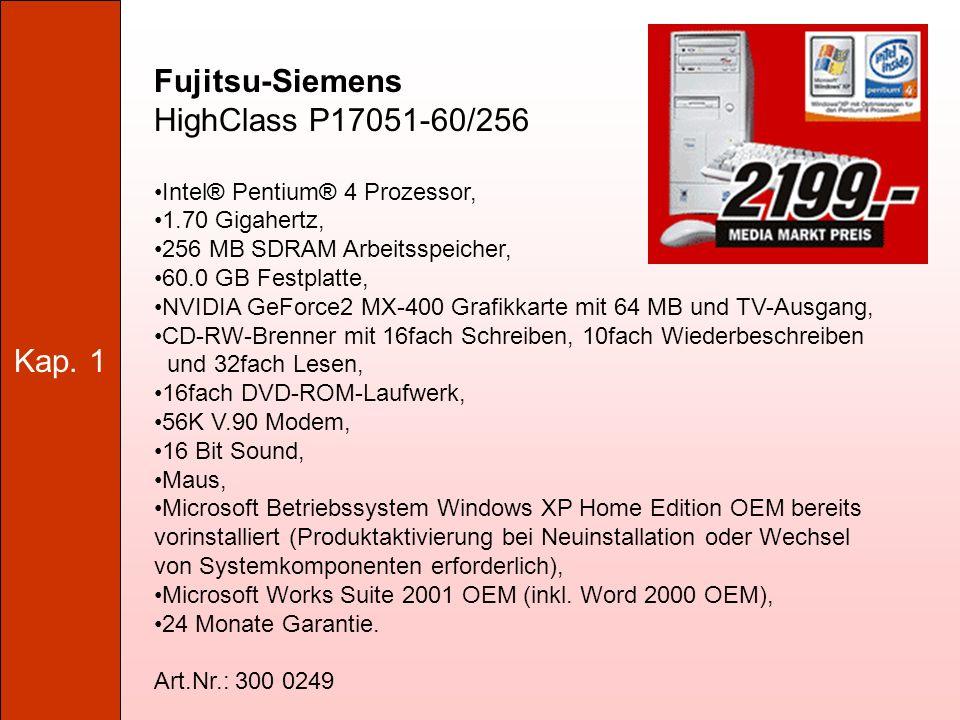 Kap. 1 Grundlagen der Hardware 1.6. Festplatten