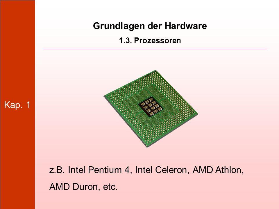 Kap.1 Grundlagen der Hardware 1.13.
