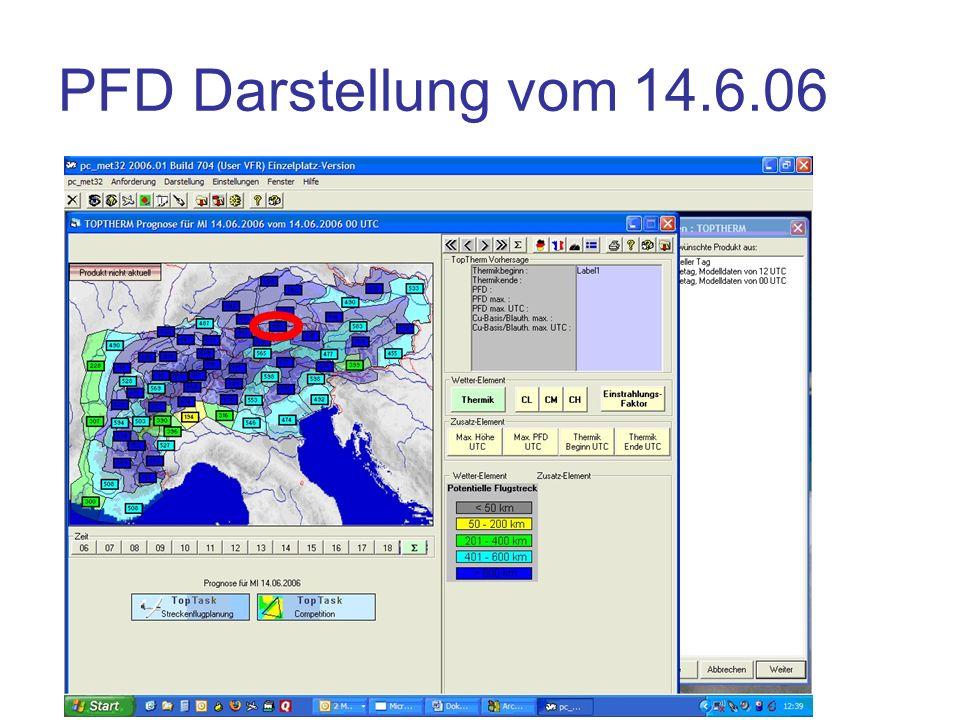 PFD Darstellung vom 14.6.06