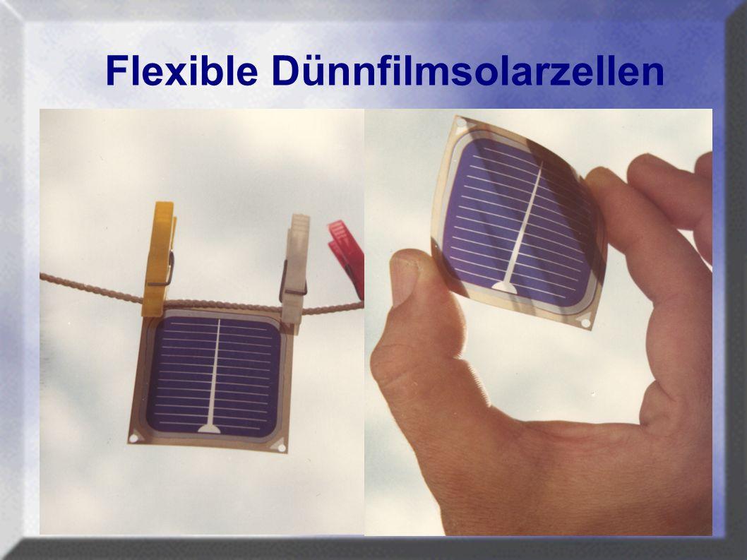 Flexible Dünnfilmsolarzellen