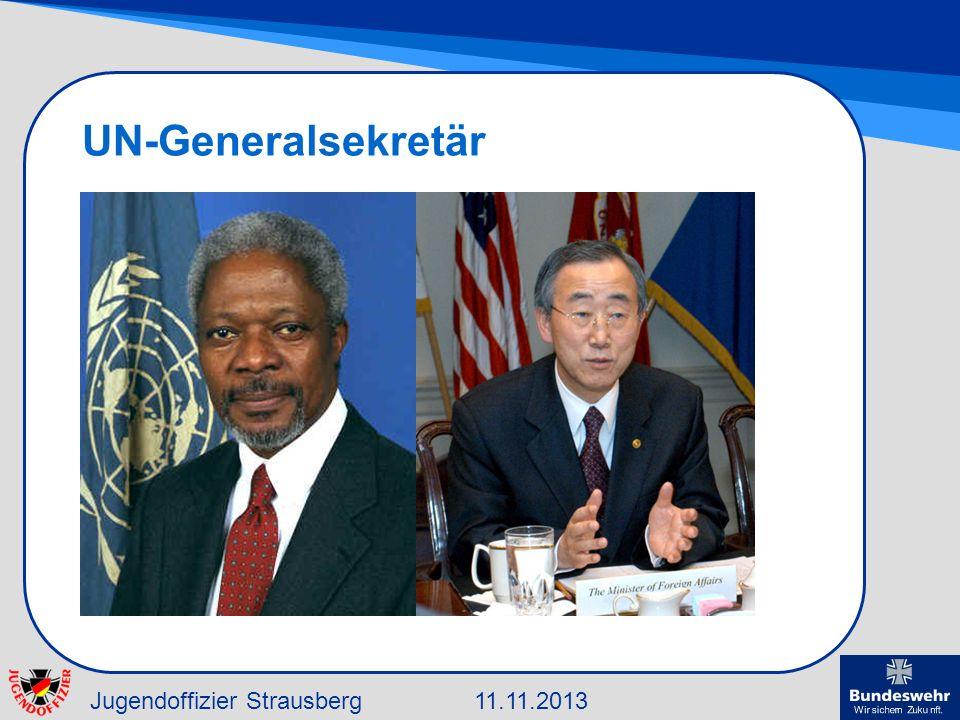 Jugendoffizier Strausberg11.11.2013 UN-Generalsekretär