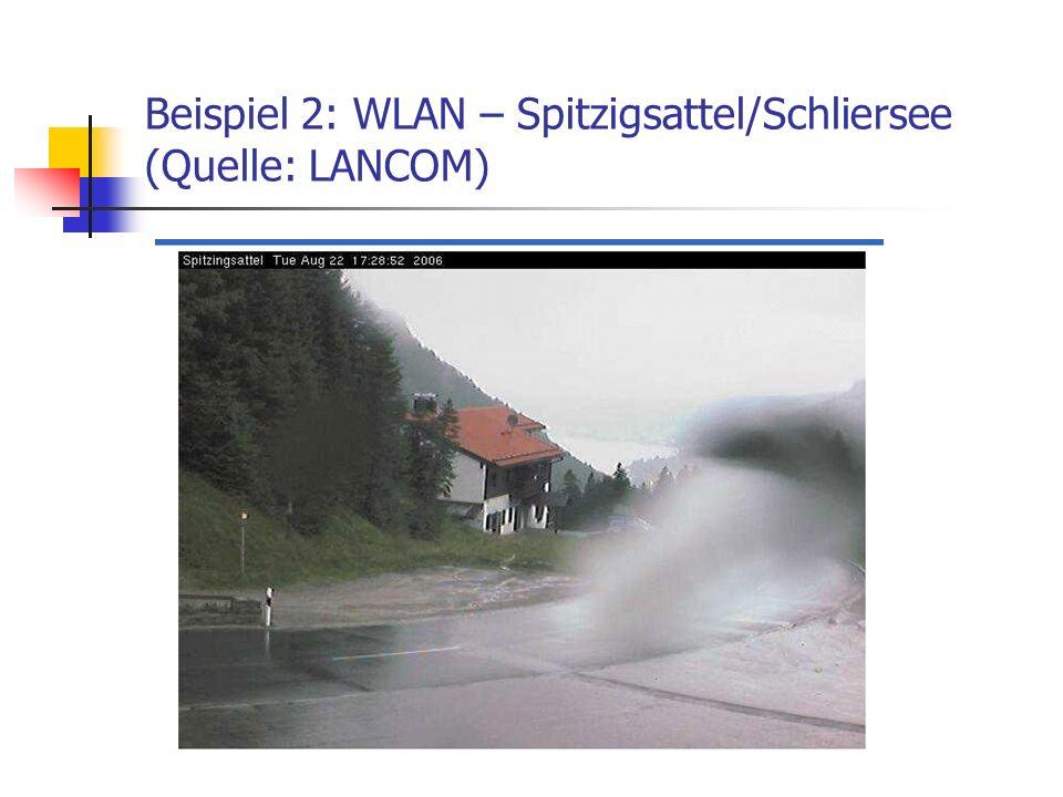 Beispiel 2: WLAN – Spitzigsattel/Schliersee (Quelle: LANCOM)