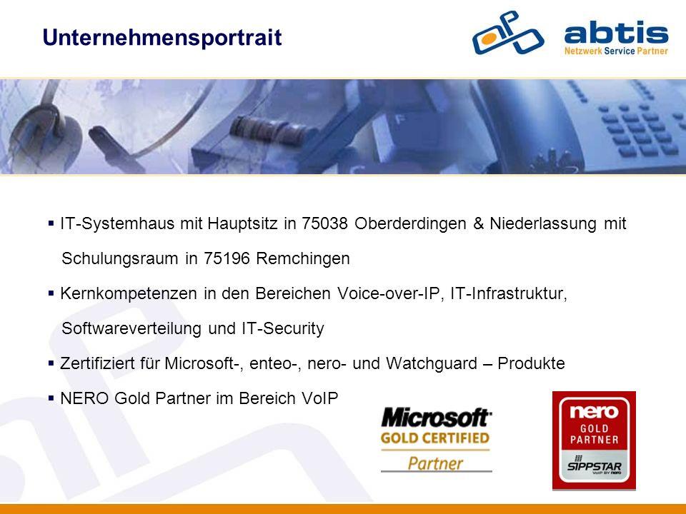 Unternehmensportrait IT - Security IT-Systemhaus mit Hauptsitz in 75038 Oberderdingen & Niederlassung mit Schulungsraum in 75196 Remchingen Kernkompet