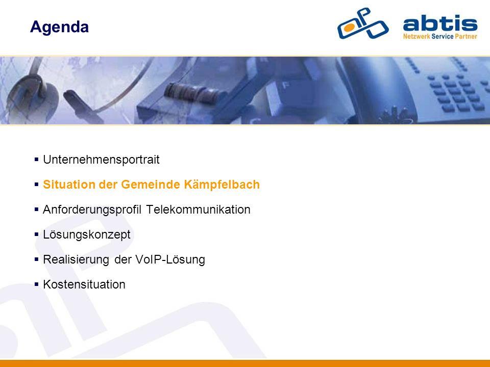 Kostensituation IT - Security Grundkosten herkömmliche TK-Anlage Jährliche Mietkosten inkl.