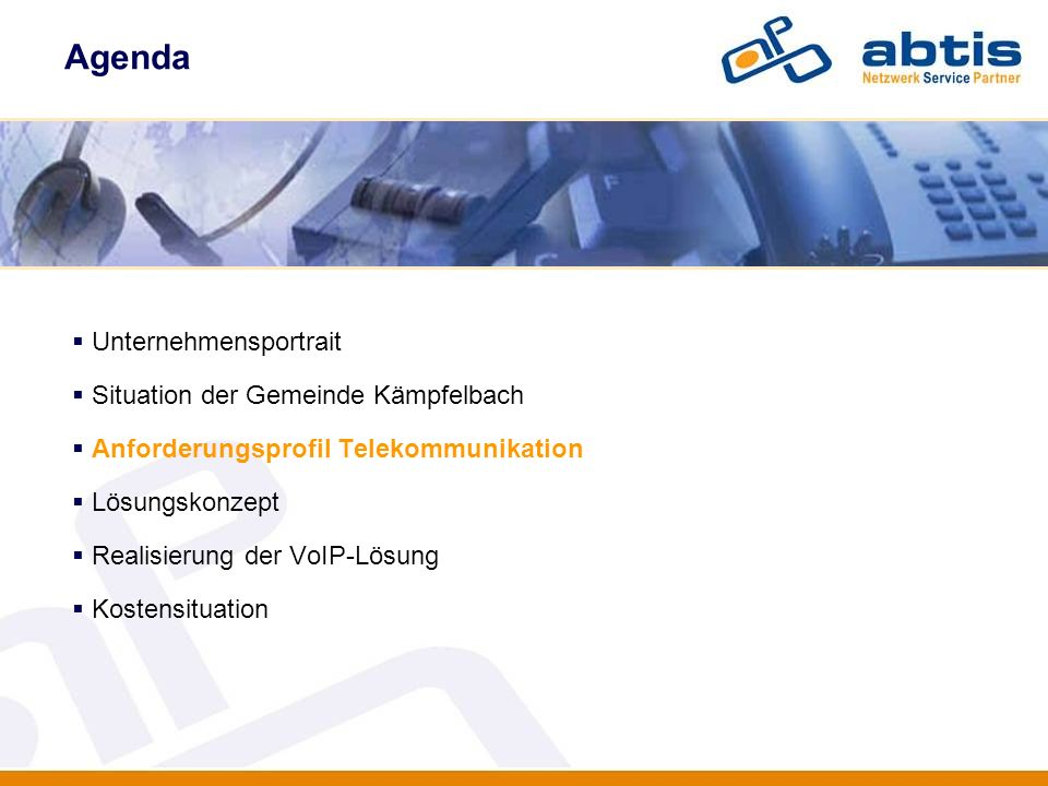 Kostensituation IT - Security Mtl.Kosten bisherige RZ Anbindung 880,- Euro Mtl.
