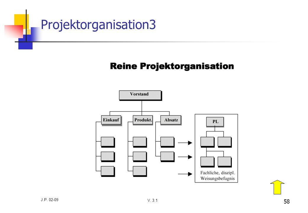 V. 3.1 J.P. 02-09 58 Projektorganisation3