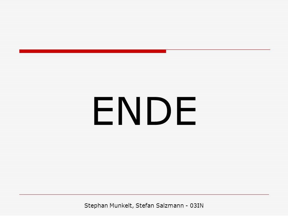 ENDE Stephan Munkelt, Stefan Salzmann - 03IN