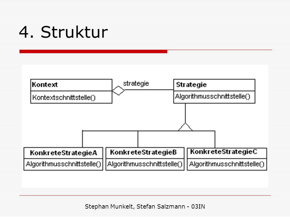 4. Struktur Stephan Munkelt, Stefan Salzmann - 03IN