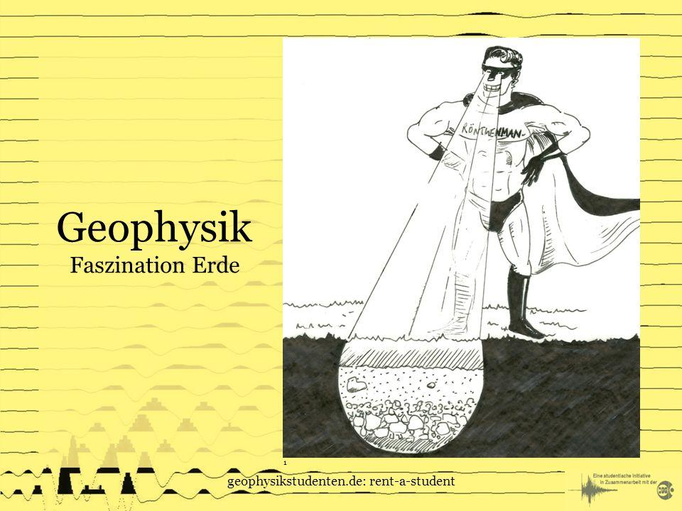 geophysikstudenten.de: rent-a-student Geophysik Faszination Erde 1
