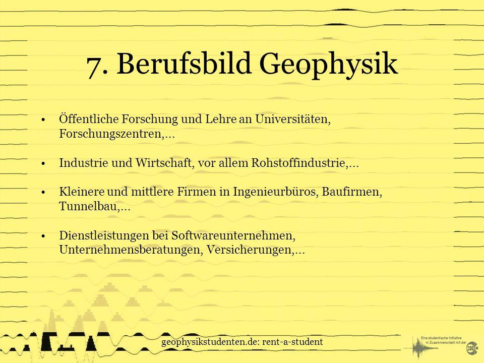 geophysikstudenten.de: rent-a-student 7.