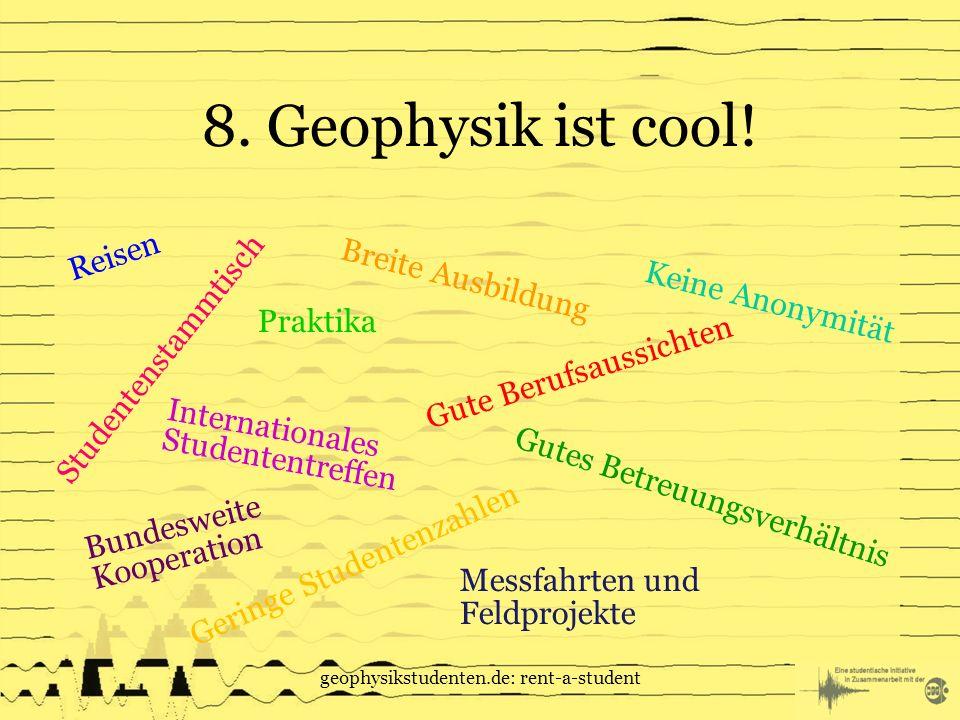 geophysikstudenten.de: rent-a-student 8.Geophysik ist cool.