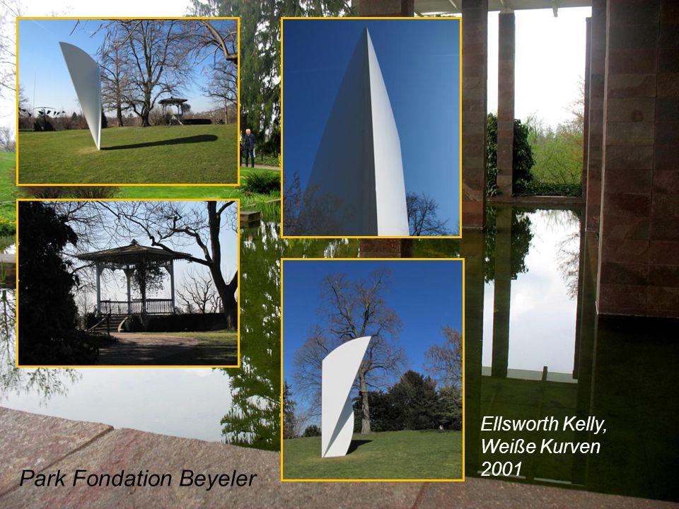 Park Fondation Beyeler Ellsworth Kelly, Weiße Kurven 2001