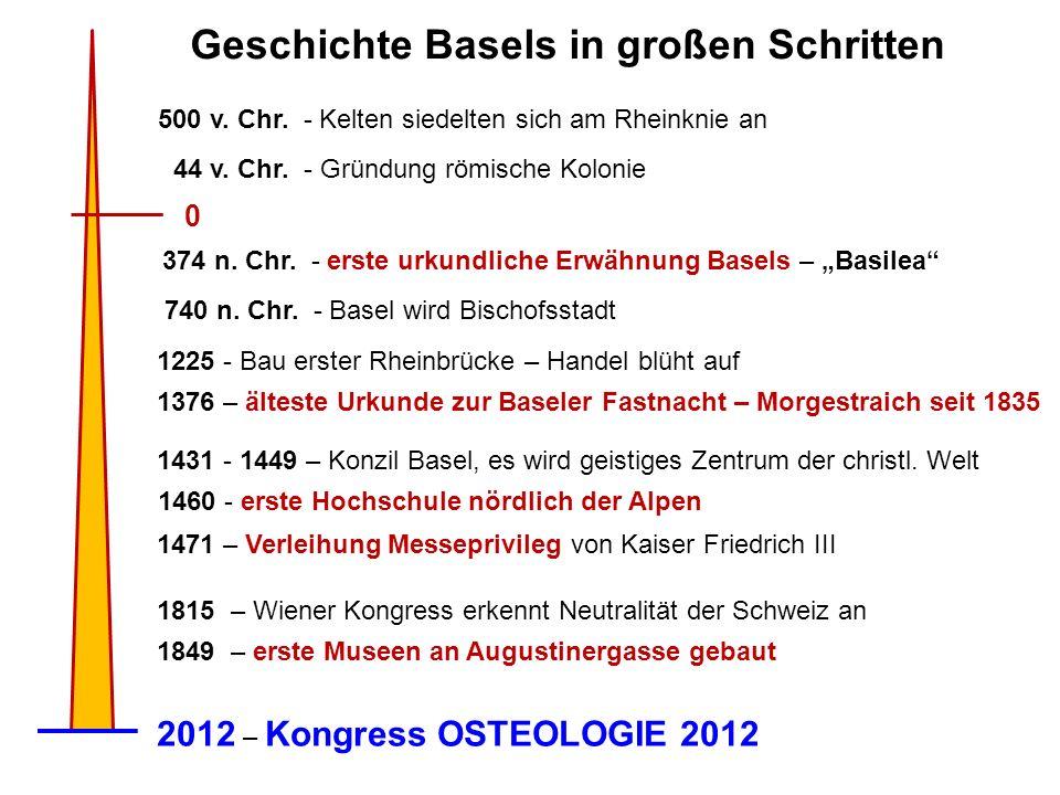 Der Baselstab ist Hoheitszeichen der Bischöfe seit dem Jahr 1000 n.