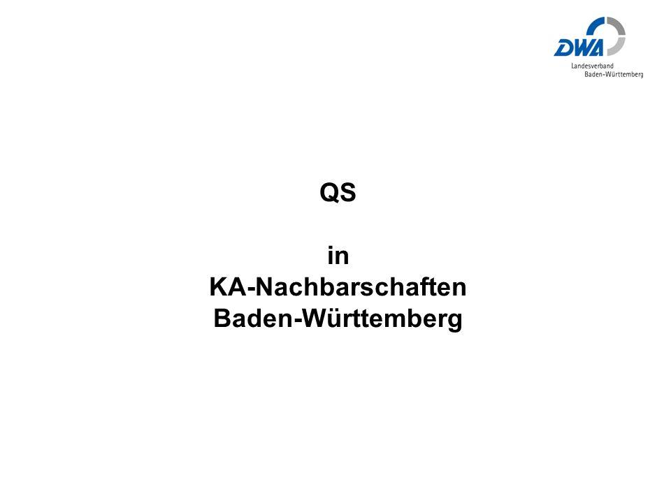 QS in KA-Nachbarschaften Baden-Württemberg