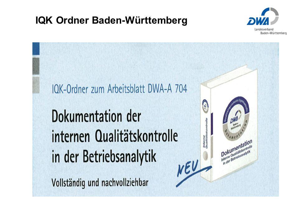 IQK Ordner Baden-Württemberg