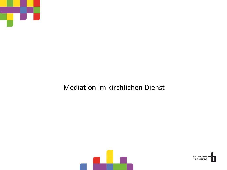 Mediation im kirchlichen Dienst