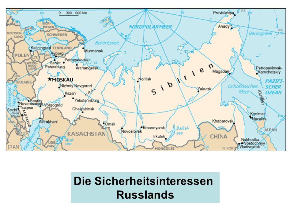 Die Sicherheitsinteressen Russlands